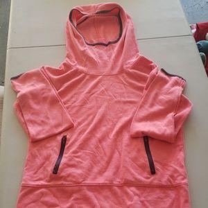 Pink Women's Hoodie With Zip Pockets